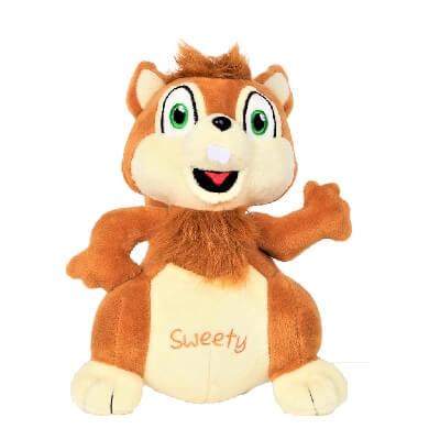 Peluche écureuil Sweety