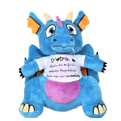 Peluche dragon Unsed