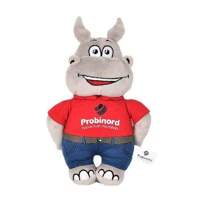 Peluche hippopotame Probinord